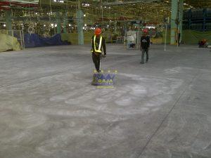 Pekerjaan epoxy lantai oleh tim Raja-Epoxy.com