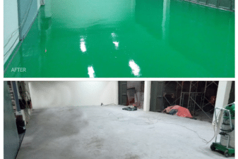 epoxy coating lantai